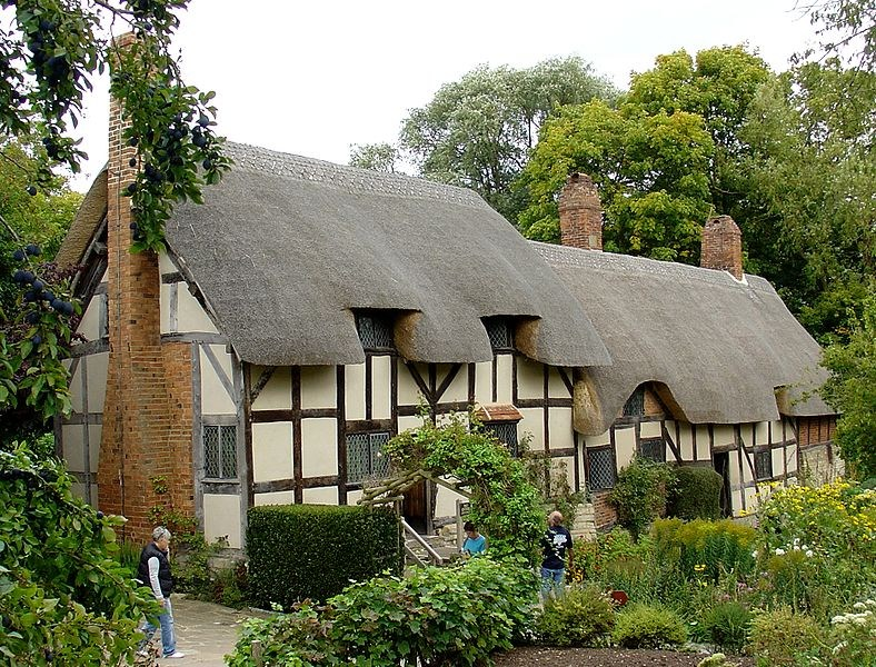 Anglie - Stratford on Avon - Hathaway Cottage